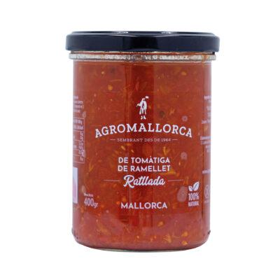 Tomate Ramillete Rallado Tarro Cristal 400 gr