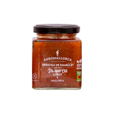 Tomate de Ramillete Pa amb Oli Picante Tarro Cristal 195 gr